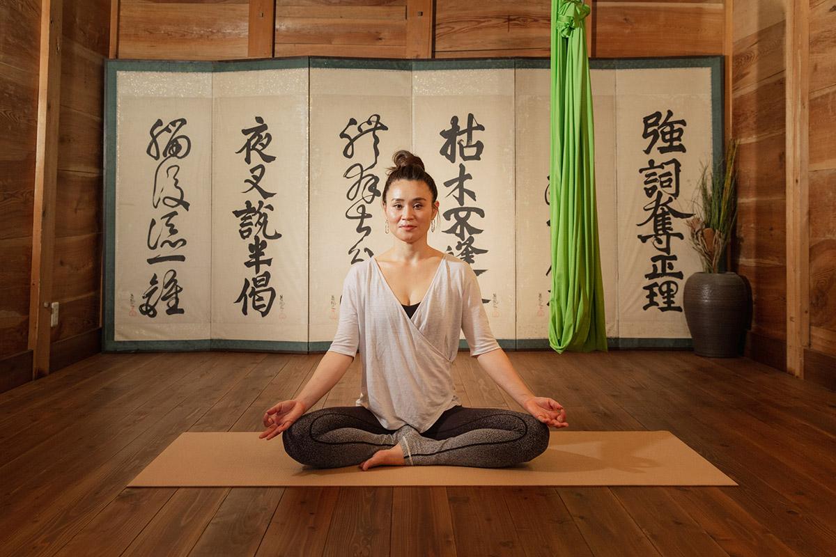 yogalaya インストラクター 田中まどか